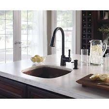 moen lindley kitchen faucet moen lindley ca87012brb kitchen faucet mediterranean bronze c0006