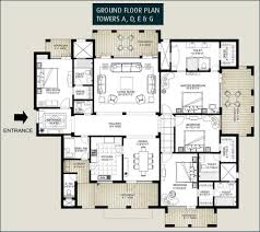 Apartment Building Plans Floor Plans Of Emaar Mgf The Palm Springs Apartments Penthouses
