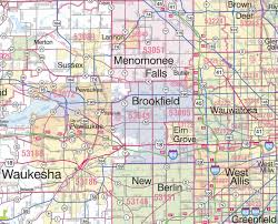 Wisconsin Zip Code Map by Map Of Southeastern Wisconsin Cities Pictures To Pin On Pinterest