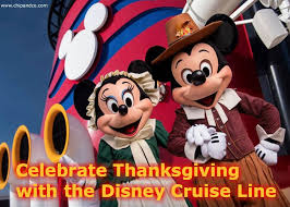 does the disney cruise line do anything special for thanksgiving