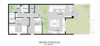 modern floor plan modern home floor plan house plans 68319