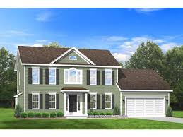 2 story colonial house plans home plan homepw76657 1764 square foot 3 bedroom 2 bathroom