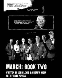 march book two march book two by j lewis a aydin nate powell digital