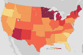 Scary Maps The New Climate Normals Gardeners Expect Warmer Nights Noaa