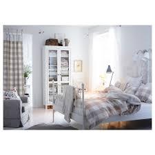Leirvik Bed Frame Reviews Leirvik Bed Frame White Luröy Standard King Ikea