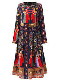 print dress tropical floral print dress sleeve black dress with flower