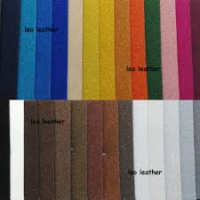 Leather Fabric For Sofa Suede Leather Flocking Leather Synthetic Leather Faux Leather