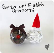 santa rudolph ornaments smart school house