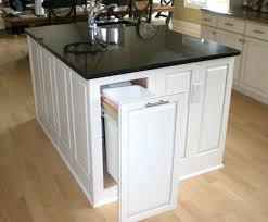 kitchen island with garbage bin kitchen island portable kitchen island with trash can small