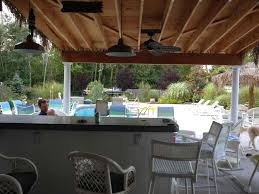 pinterest outdoor bars hut overhang roof pool house beach tiki