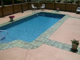 concrete cantilever pool deck