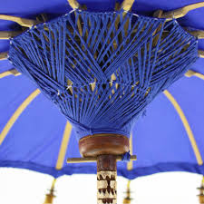 34 royal blue tabletop bali umbrella 404471 wholesale wedding