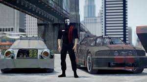 gta 4 death race high speed car with machine gun and rockets