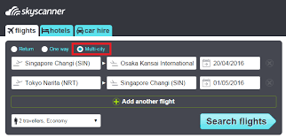 how to plan a multi city itinerary to japan with skyscanner more