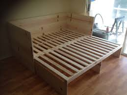 cheap pull out sofa bed could make this without headboard twin to king pull out bed diy
