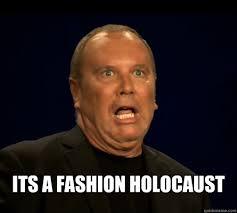 Horrified Meme - its a fashion holocaust horrified michael kors quickmeme