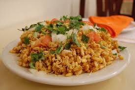 indian chaat cuisine ไฟล indian cuisine chaat bhelpuri 03 jpg ว ก พ เด ย