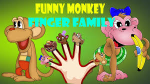 Funny Halloween Poems That Rhyme Five Little Monkies Funny Finger Family Kids Song Funny Monkey