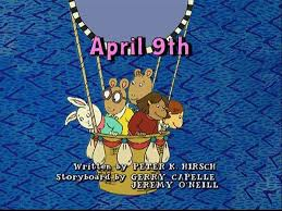 Seeking Balloon Episode List Of Title Cards Arthur Wiki Fandom Powered By Wikia
