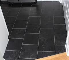 Kitchen Floor Ceramic Tile Design Ideas - light and dark contrasting wooden tiled floor dining surripui net