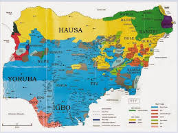 map of nigeria africa biafra maps biafran org