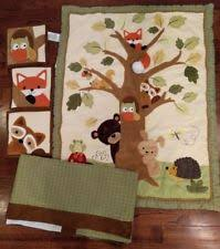 Woodland Animals Crib Bedding Lambs Unisex Nursery Bedding Sets Ebay