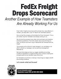 campaign literature teamsters