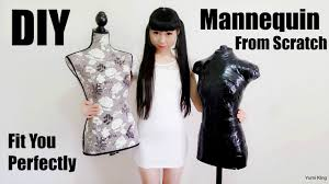 diy mannequin from scratch diy homemade dress form fits you