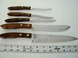 kitchen knives ebay 5 vintage sears craftsman kitchen knives including 12 inch