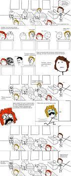 Shlick Meme - le shlick in class view more rage comics at http leragecomics