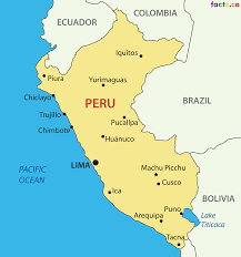 Cusco South America Map by Peru Political Map With Cities