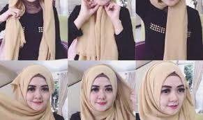 tutorial hijab pashmina tanpa dalaman ninja tutorial hijab pashmina untuk acara resmi ultram info