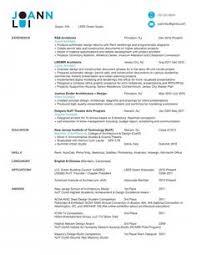 Architect Resume Sample Creative Architecture Resumes Exmaple Creative Resume Sample