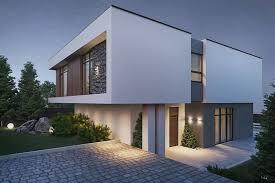 modern house design by nastya kravchenko amazing architecture