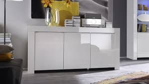Sideboard Esszimmer Design Amalfi Anrichte Weiß Hochglanz Lackiert