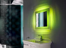 Backlit Bathroom Mirror by Fluorescent Backlit Bathroom Mirrors Frameless Led Backlit Mirror