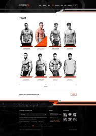 massa u2014 fitness gym sport blog psd template by torbara themeforest