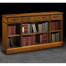 Bookshelves Furniture by Long Low Bookcase Low Profile Bookshelves Doherty House Long