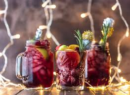 christmas martini easy holiday sangria gluten free the cookie rookie