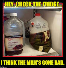 Fridge Meme - milk s gone bad imgflip