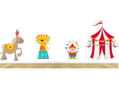 circus wall decals kids wall decals nursery wall decals nursery