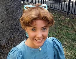 sale wendy darling peter pan costume wig true