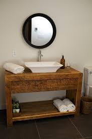 vanité chambre de bain salle de bain espace bois