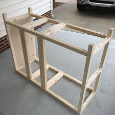 how to make a buffet table buffet table free diy plans rogue engineer