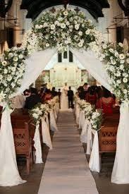small church wedding best 25 church wedding flowers ideas on pew flowers