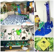 jungle themed birthday party safari theme party ideas