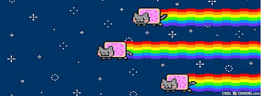 Nyan Meme - nyan cat meme fb cover facebook covers cool fb covers use our