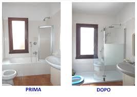 bagno o doccia sostituzione vasca con cabina box doccia su misura a vicenza con