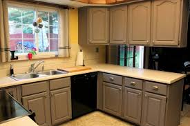 ideas on painting kitchen cabinets kitchen spraying cabinet doors painting wood cabinets painted