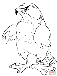 falcons coloring pages free coloring pages